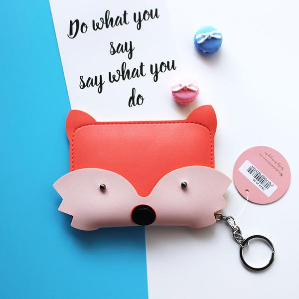 etya new style cartoon cute animal coin purse key bag fashion pu storage coin bag student wallet women girl purses (495616710) photo