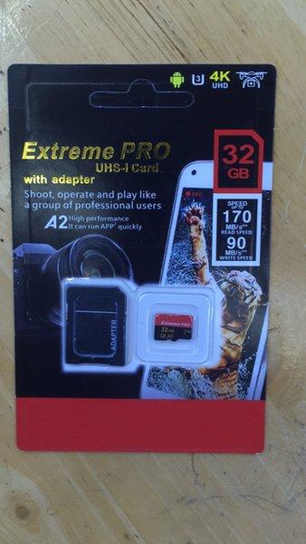 The la te t popular 128gb 256gb 64gb 32gb d card micro tf card with adapter bli ter generic retail package