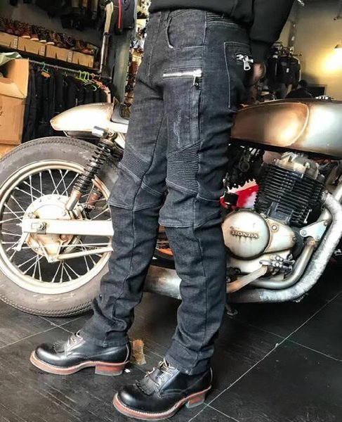 2020 new winter warm Uglybros Motorcycle jeans for men Protective pants for outdoor riding retro motorcycle jeans size: 28-40
