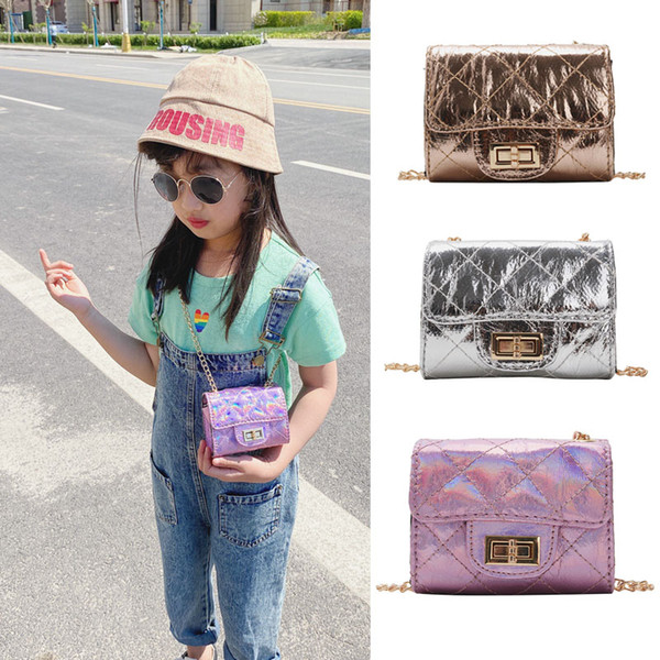 children leather purses and handbags 2020 new little girl small coin wallet pouch box purse kids messenger bag gift (538002831) photo