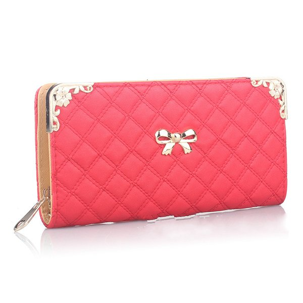 women's fashion clutch wallet women wallets casual female clutch bags coin purse ms wallet pu leather girl purse (480140139) photo