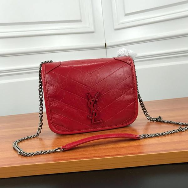 сумки на ремне женская марка кожаная цепочка Письмо печати сумка через плечо сумка известная тенденция кошелек высокого качества женская сумка M-K11