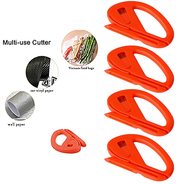 ehdis 50pcs snitty safety cutter vinyl film graphic cutting tool paper decal vinyl film car wrap carbon fiber paper cutter knife (501953017) photo