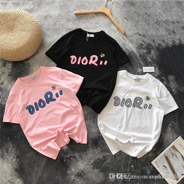 19 luxuriou brand de ign d letter bee embroidery cotton tee hirt men women breatheable fa hion treetwear outdoor t hirt