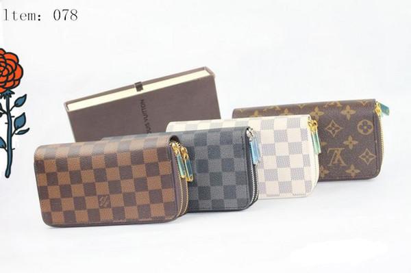 2019 new fashion women long wallets famous pu leather wallet single zipper cross pattern clutch girl purse (506902654) photo