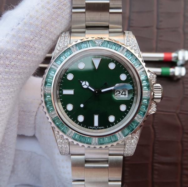 Роскошные часы 40 мм Полный титановый корпус и ремешок цвета совершенного автомат фото