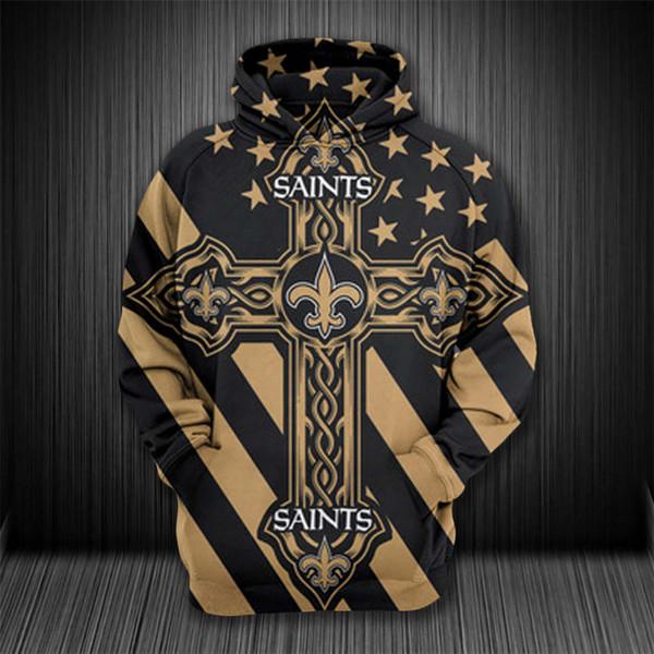 Dropshipping США Размер New Orleans Saints Костюмировать Мужская 3D Толстовки Уличная Сиэтл Seahawk