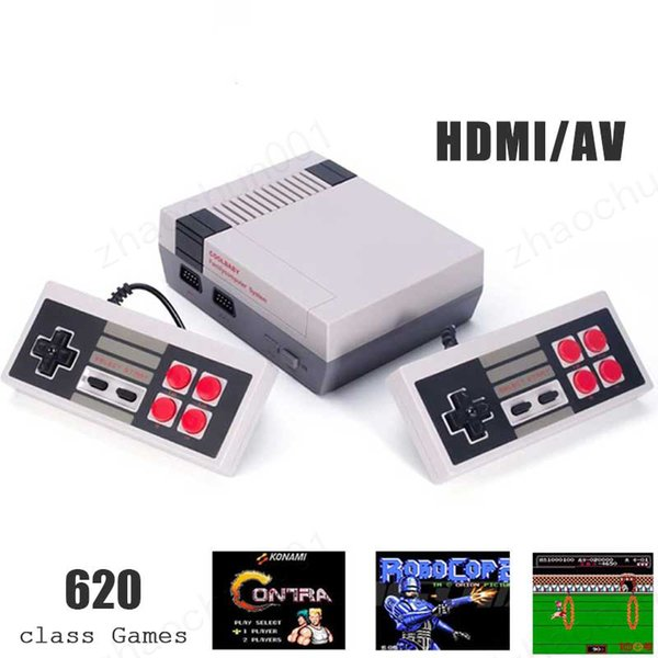 100x arrival mini tv video handheld game con ole 620 game 8 bit entertainme handheld for n e game con ole with retail box high quality