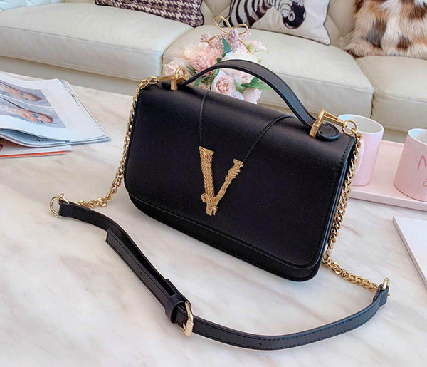 varsce luxury purses bags medusa bag varse purses bag shoulder crossbody chain strap purses designer bag (498884834) photo