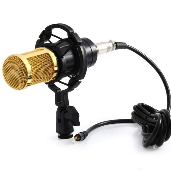 BM 800 караоке микрофон студийный конденсаторный микрофон BM800 микрофон для КТВ ради фото