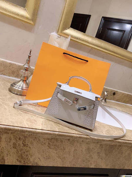 designer- harmers designer handbags mini size crocodile pattern killy handbag fashion totes purse woman h purse bag (515254605) photo
