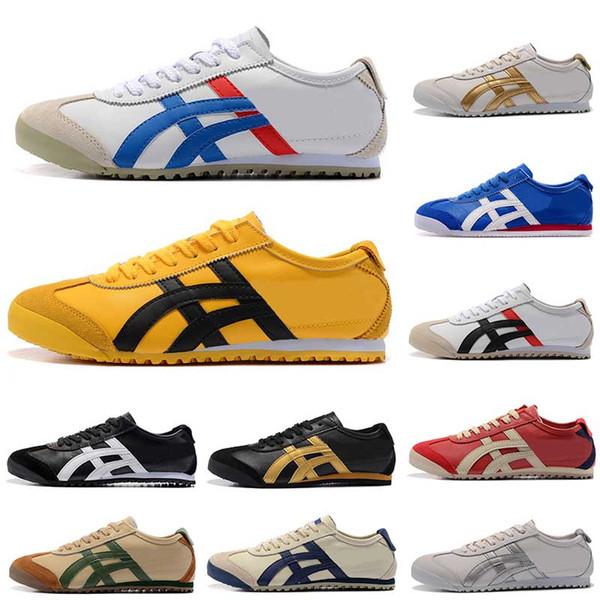 2019 NewAsics Onitsuka Tiger Runner Мужчины Женщины Спортивная уличная обувь Модный бренд Спортивные мужские кроссовки Кроссовки Дизайнерские кроссовки 36-44