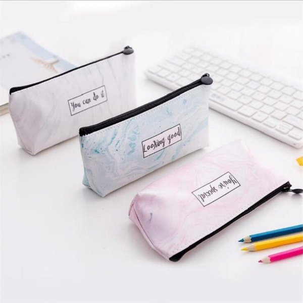 girl travel toiletry cosmetic bag pencil make up makeup case storage pouch purse organizer printing students bags pencil case (549248538) photo