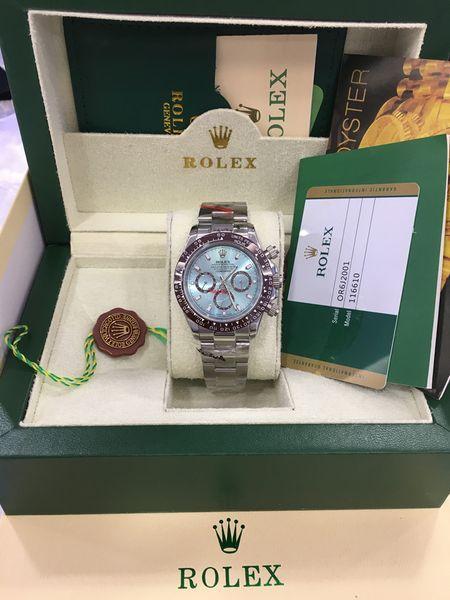 Оригинал сертификата картриджа Мужские часы Sapphire 40mm 116509 Автоматические механиче фото
