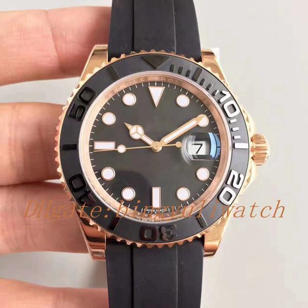 Роскошная фабрика VRF наблюдает автоматический Cla. 3135 часы мужчины розовое золото 1