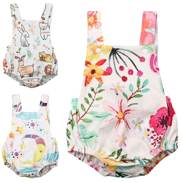 bodysuit 2020 summer newborn baby clothes boy girl kids cotton bodysuit funny cute kawaii outfits infant sleeveless daddy gift