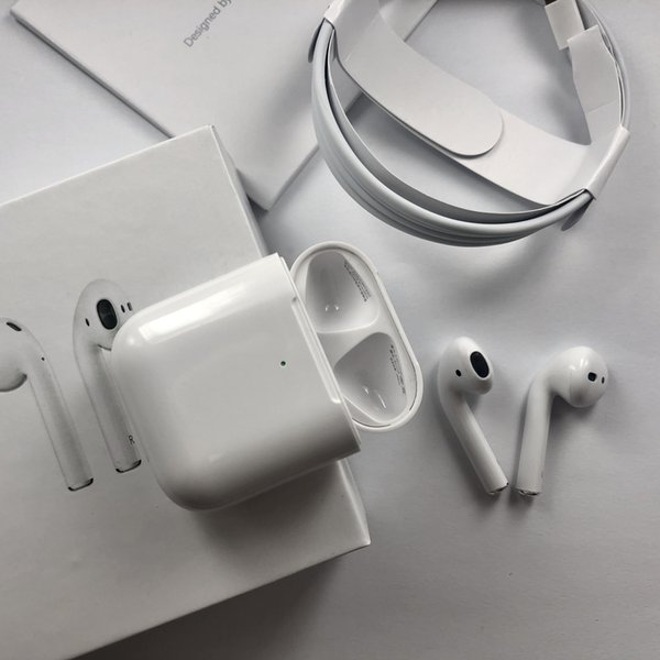 2019 wirele   bluetooth earbud  head et earphone airpod  2  upercopy with pop up window work  touch wirele   charge