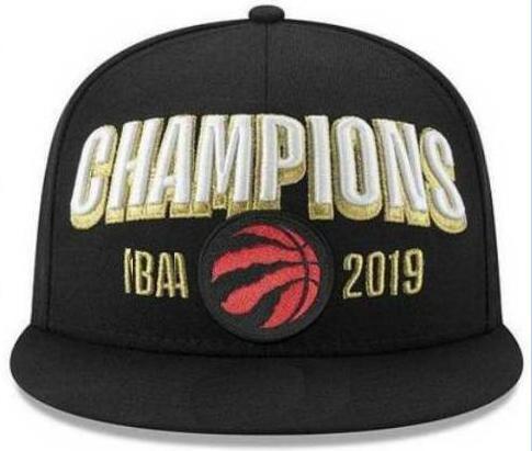 2019 raptor final champion napback hat cap 00