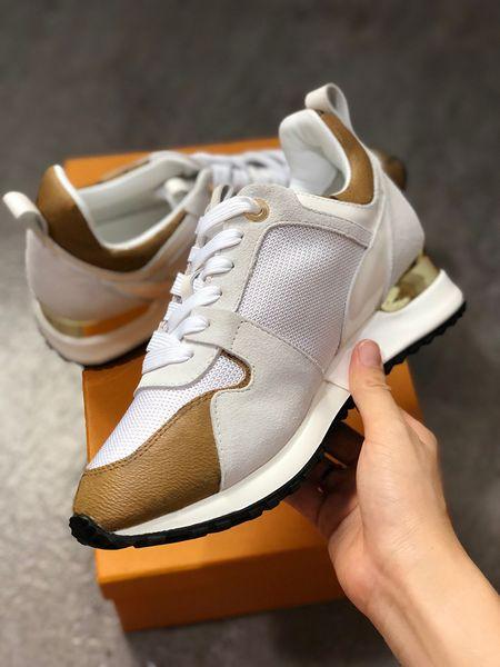 2019 новый RUN AWAY Дизайнерские кроссовки Женские туфли из натуральной кожи мужские К