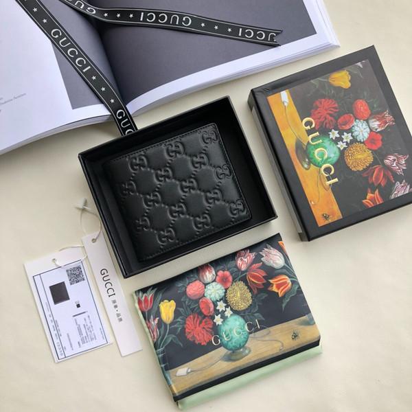 mens wallet billfold women wallet change bag wrist purse hand purse purses with box (510535265) photo