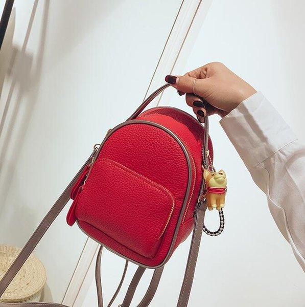 new designer luxury handbags purses mini backpack girl schoolbag fashion women shoulder bags student travel backpack (541100593) photo