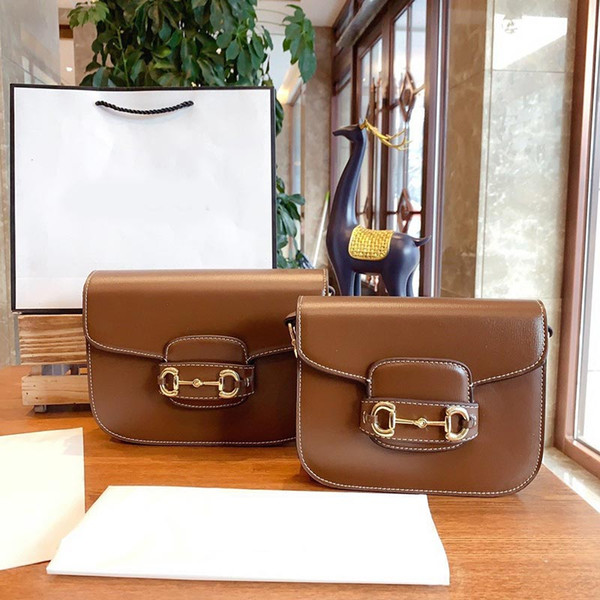designer luxury handbag purse ladies purse bag 2020 new style shoulder crossbody messenger saddle purse bag with box (522191932) photo