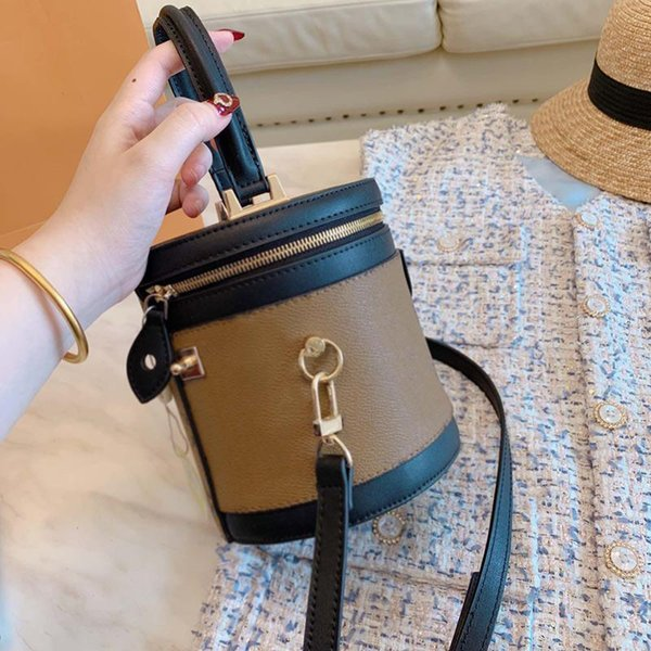 designer handbags purses new brand l0g0 women designer handbag leather fashion cosmetic case bucket bags (530522462) photo