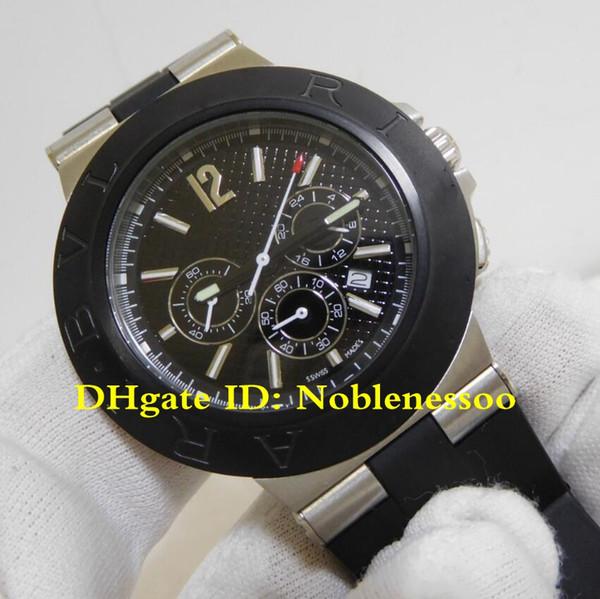 Роскошные высококачественные мужские часы Diagono черный циферблат кварцевый механ фото