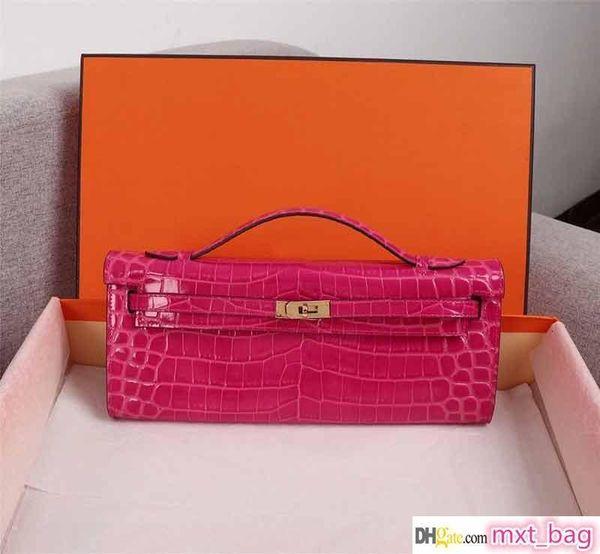 designer luxury handbag purse alligator pattern women designer bags ladies purse real leather designer purse bag (511168363) photo