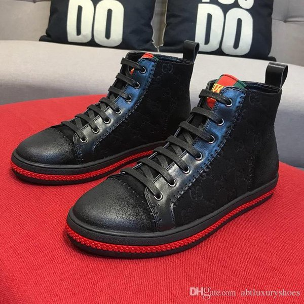 Men Shoes Boots Outdoor Breathable Vintage Shoes Chaussures pour hommes Breathable High Top Man Boots Platform Mens Flats Footwears Winter