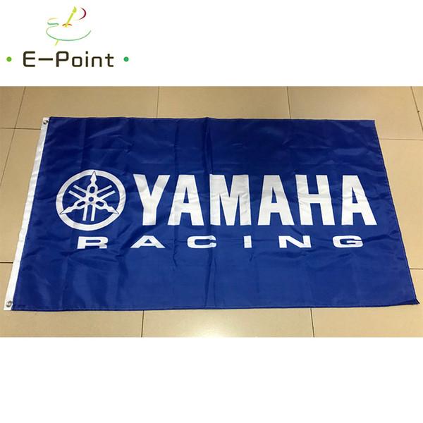 Флаг Yamaha Racing 3 * 5ft (90 см*150 см) полиэстер флаг баннер украшения летающий дом сад флаг фото