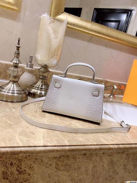 designer-harmers designer handbags mini size crocodile pattern killy handbag fashion totes purse woman h purse bag. (503581186) photo
