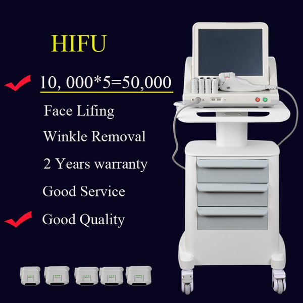 50000 hot hifu machine for wrinkle removal kin rejuvenation body limming beauty machine kin tightening 10000 hot