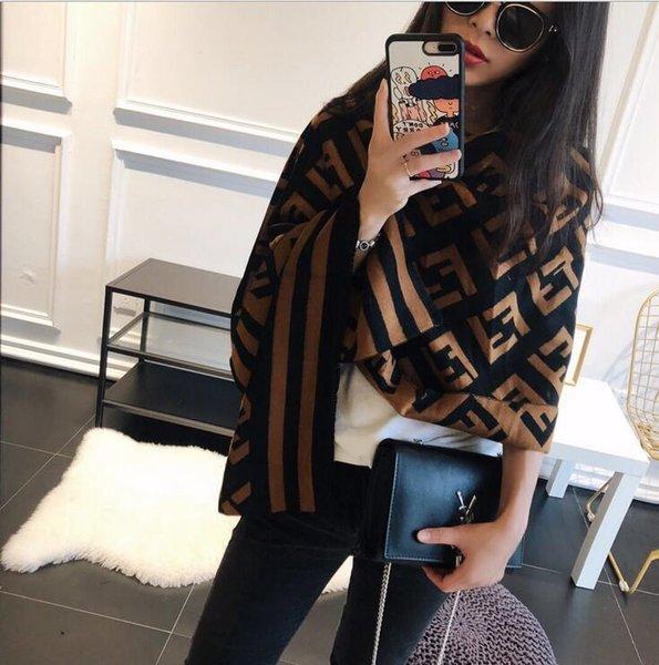 2020 новый Top шарф: высокое качество модные кашемировые шарфы, толстые кашемировые шарфы имитация, размер 180 * 70см Бесплатная доставка фото