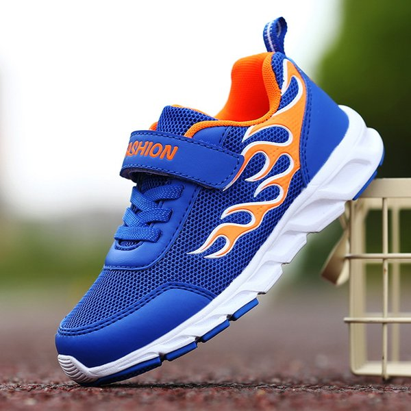 12 colors kids sneakers 2019 children sports running shoes youth boys basketball shoes boys double net breathable platform sneakers