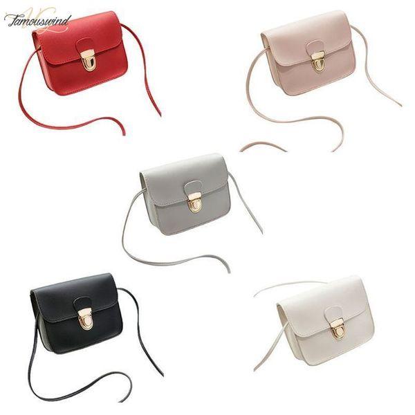 women pu leather small handbag satchel messenger crossbody shoulder bag purse girl mini shoulder bag purse (551309252) photo