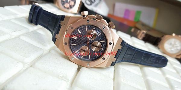 Лучшие высококачественные мужские часы Часы 26331OR VK Кварцевый хронограф рабочий К фото