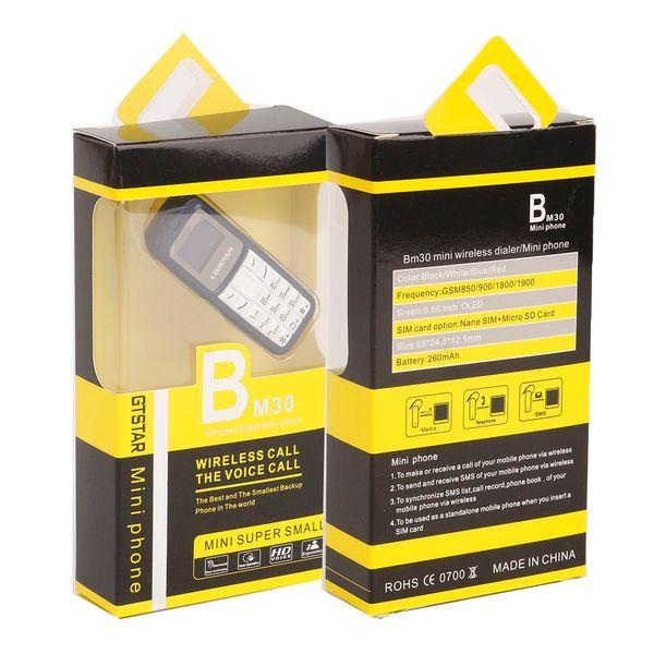 L8 tar bm30 mini phone  im tf card unlocked cellphone g m 2g 3g 4g wirele   headphone bluetooth dialer head et mobile with mp3 dhl  hip
