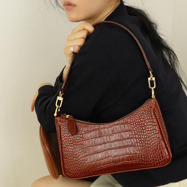 2020 luxury handbags women bags designer vintage alligator women's handbags female shoulder bags girls leather purses (541977315) photo