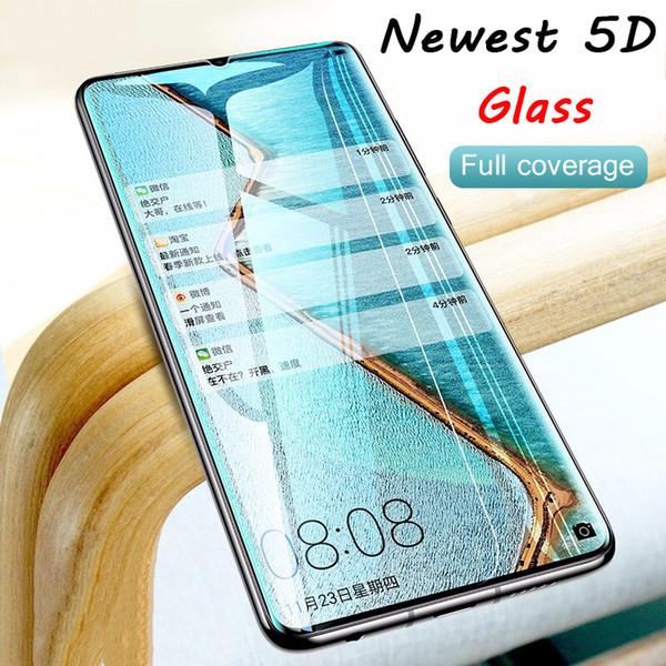 5D изогнутый жесткий закаленное стекло для Huawei P30 Pro смартфон Защитная пленка для Hu