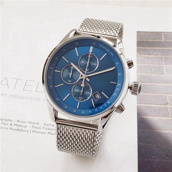 Мужские модные брендовые часы роскошные часы boss многофункциональный с календаре фото