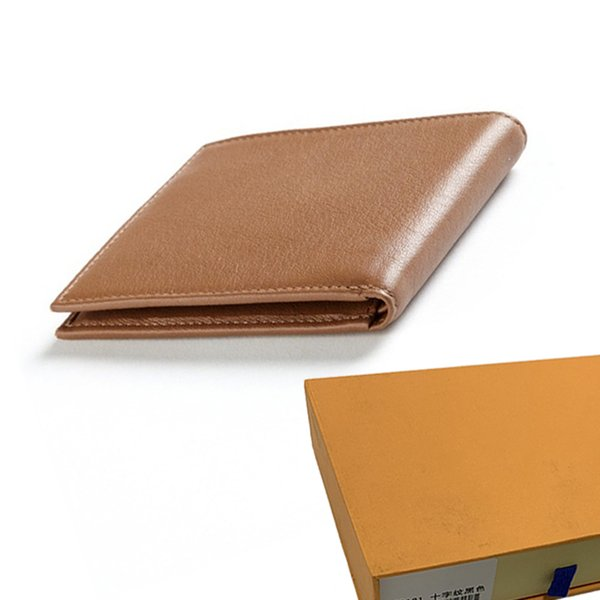wallet designer wallet mens luxury wallet business purse men wallets designer luxury handbags purses women purses with orange box 1124 (536066767) photo