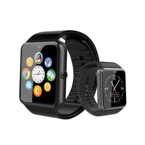 Smart watch gt08 with metal  trap touch  creen pedometer  upport tf  im card camera for io  android phone