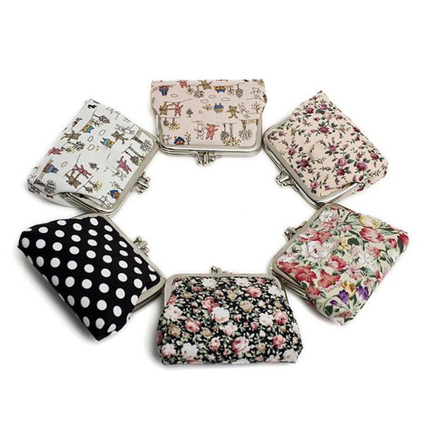 cute canvas women coin purse small mini bag coin plush purse wallet for girl small pouch kawaii children wallet (454941969) photo