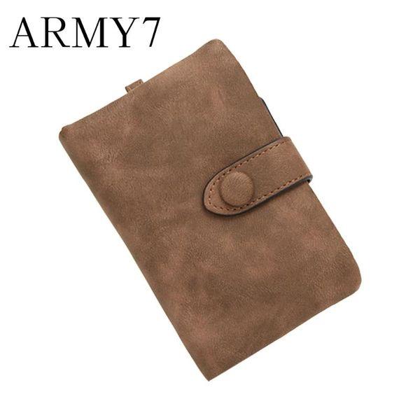 wallet woman 2019 card holder scrub tri-fold short section students coin purse woman leather portable mini coin purses ship (514216450) photo