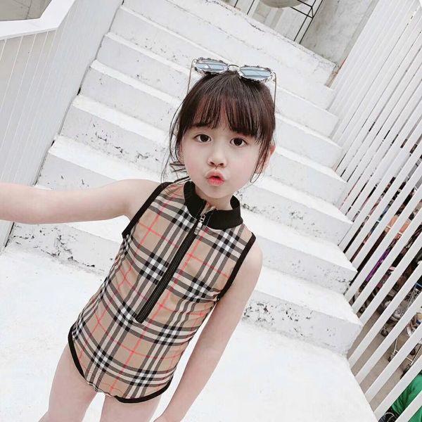 Kids Bathing Suits Girls One-piece Bikini 2019 Summer child Swimming Baby girls swimsuit