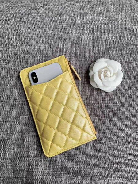 2019 new ladie pur e french fa hion de igner wallet fa hion trend tyle practical multi layer zipper clo ure opening