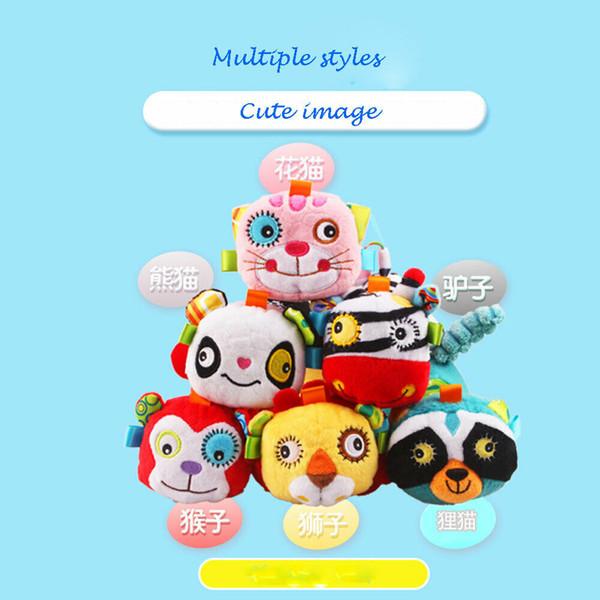2019 Новый Emmababy Мода игрушки Симпатичные животные Голос куклы Плюшевые игрушки Детские игры Играть Дети Спящий Soft Comfort игрушки фото