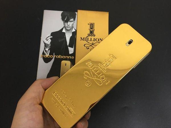Epack gold men women perfume health beauty fragrance luxury perfume rabanne gold million man perfume 100ml drop hipping hipping