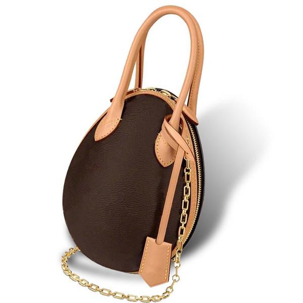 new designer dinosaur egg classic printing shoulder bags woman's chain bag leather lady messenger bag luxury egg purse two handles m445 (494653217) photo